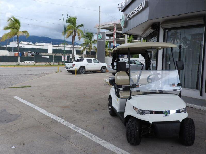 Carro de golf 2 pasajeros Crossem