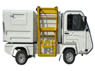 Camión eléctrico para recolección de basura
